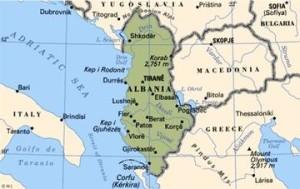 Missione-albania-mappa